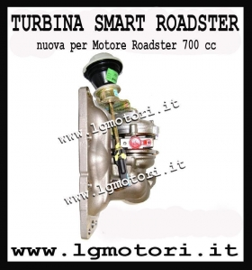 TURBINA SMART ROADSTER NUOVA - LG Motori AutoRICAMBI